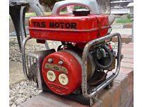Vintage Tas Motor Generator. Made in Japan