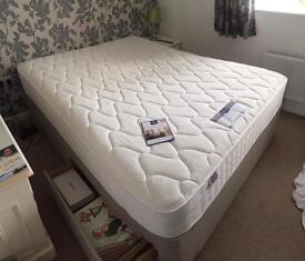 King size Memory foam devan bed