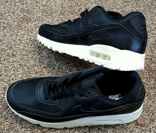 pick up 0e872 ac672 NIKE AIR MAX 90 SE PREMIUM DOUBLE BLACK WHITE LEATHER UK SIZE 8.5 NEW 2019  STYLE BRAND NEW BOXED | in Huddersfield, West Yorkshire | Gumtree