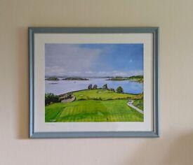 Framed Golf Print - Aberdour