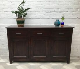 Indonesian Sideboard Cabinet Dresser #691