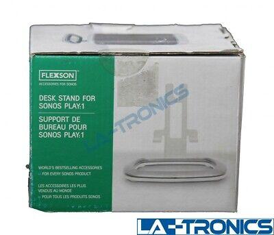 Flexson Desk Stand for Sonos PLAY:1 Speaker White - FLXP1DS1011