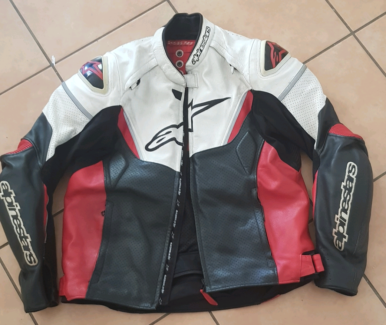 Alpinestars GPR perforated leather jacket