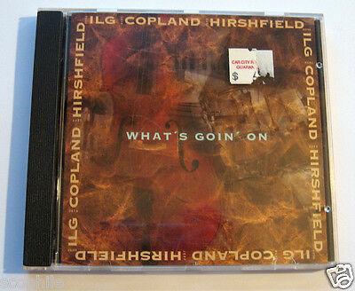 Dieter Ilg - What's Goin' On, Jazz Bass / Keys / Drums Trio Audio CD