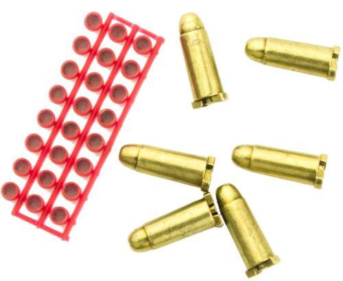 Set Of 6 Cap Dummy Shells For Denix Western Cap Firing Revolvers