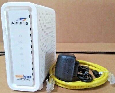 ARRIS SURFboard SBG6700AC DOCSIS 3.0 Cable Modem/ Wi-Fi AC1600 Router  segunda mano  Embacar hacia Argentina
