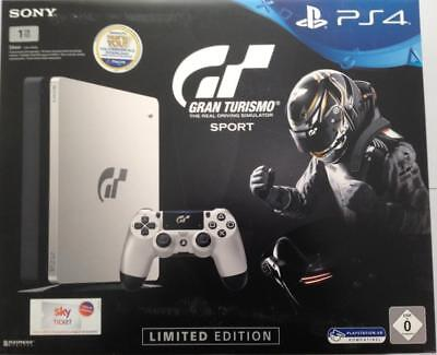 Sony PlayStation Ps4 Slim 1TB   GT Gran Turismo Sport Limited Edition   Neu/Ovp