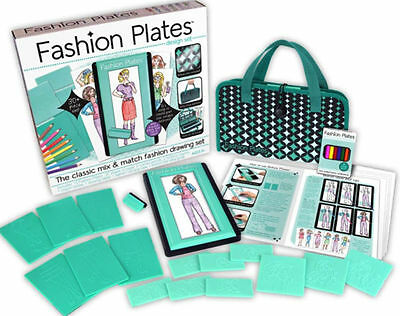 Fashion Plates Deluxe Design Kit by Kahootz ~ NEW with FREE shipping