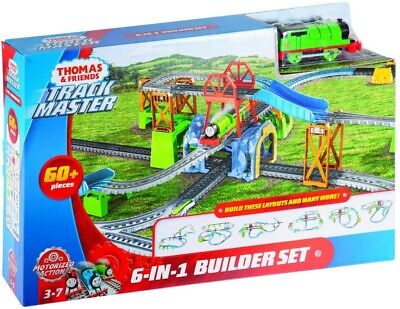 Thomas & Friends GBN45 TrackMaster Percy 6-in-1 Building Toy, Brand new in box