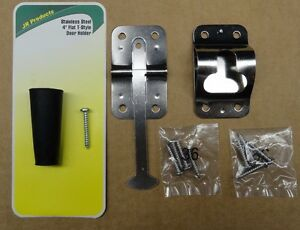 RV-Camper-Trailer-T-Stainless-Steel-Entry-Door-Holder-3-75-8-Screws