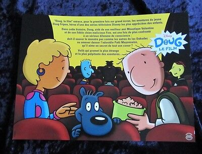 Doug's First Movie Lobby Cards - French Set of 6 - Disney, Animation