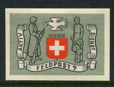 Switzerland Soldier Stamp Feldpost   #6/2  Schweiz Soldatenmarken   10
