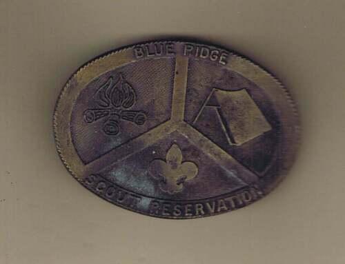 Blue Ridge Scout Reservation Belt Buckle CS