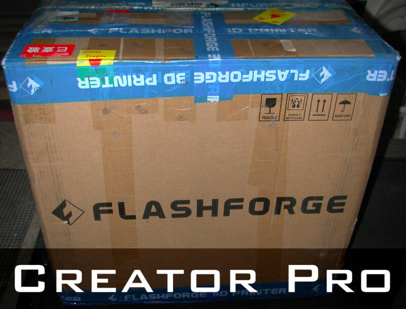 FlashForge Creator Pro 3D printer dual extruder (New in open box)