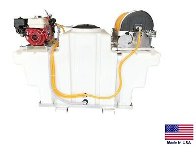 Sprayer Commercial - Skid Mounted - 9.5 Gpm - 580 Psi - 5.5 Hp - 300 Gallon Tank