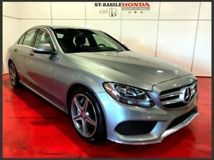 Mercedes-Benz C300 4MATIC + GROUPE SPORT + MAGS AMG 2015