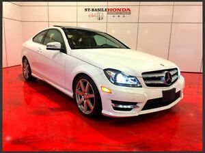 Mercedes-Benz C350 COUPE 4MATIC + GPS + TOIT PANO 2013