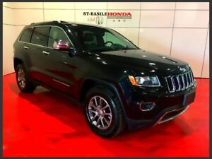 Jeep Grand Cherokee LIMITED + CUIR + TOIT 2014