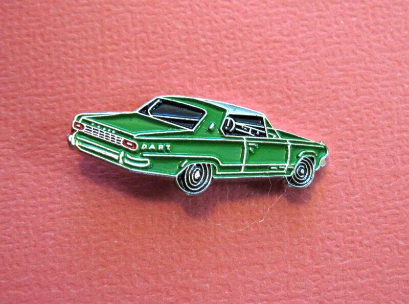 EARLY  dodge  DART  car - hat pin , tie tac , lapel pin , hatpin GIFT BOXED