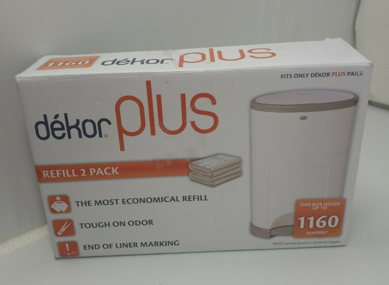 Dekor Plus Refill 2 Pack For Dekor Plus Pails Free Shipping