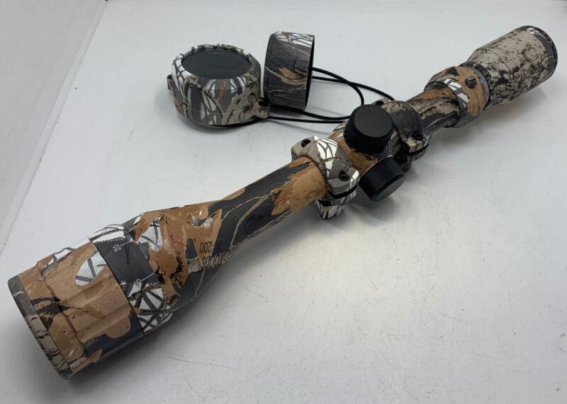 Bushnell 764124RT Sharpshooter Rifle Scope 4-12x40 RTS Multi-X Realtree Hardwood