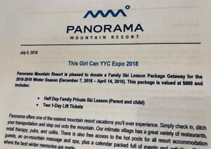 Panorama lift and lesson package