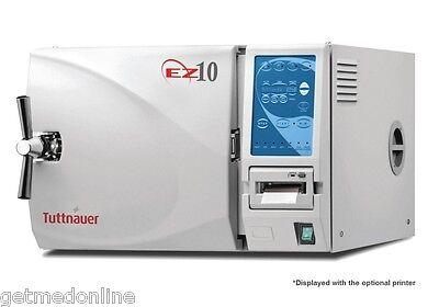 New Tuttnauer Ez10 Dental Autoclave Sterilizer Chamber Size 10 X 19