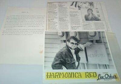 Biography Recommend Resume Book Photo Lee Oskar Enterprises Harmonica Red