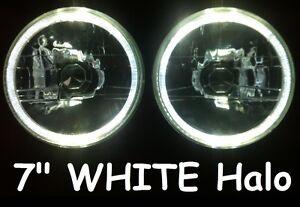 Holden-HQ-HJ-HR-HX-HZ-EH-Torana-LJ-Gemini-White-LED-Halo-7-Round-Headlights
