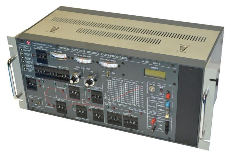 TECHNOPLAS NSP-5 MOLD ACTION SERVO CONTROLLER 100 VAC