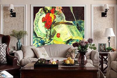 3D Romantisches Frühstück 466 Fototapeten Wandbild Fototapete BildTapete Familie Romantisches Frühstück