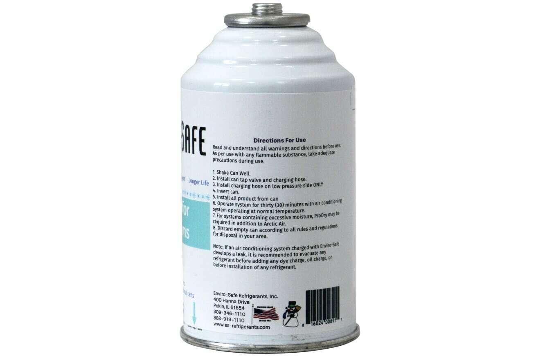 R22 R22 R 22 Refrigerant suppor Artic Air Envirosafe 3 4 oz cans  Gauge