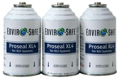 R22. R-22, R 22 Refrigerant, Proseal XL4, Envirosafe 3 4oz cans