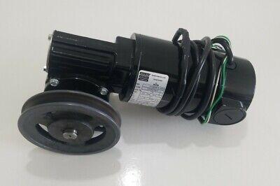 Preowned Bodine 33a5bepm-5f Gearmotor 130v .91a 18hp Ratio 401 62rpm