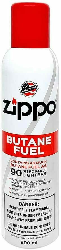 Zippo Lighter Butane Fuel 290 ml