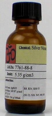Silver Nitrate 50 Gram Large Crystals Or Powder