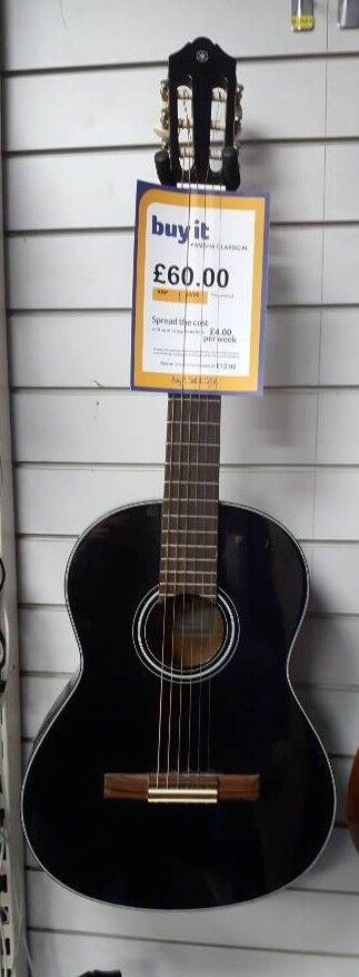 Yamaha C40bl Classic Acoustic Guitar