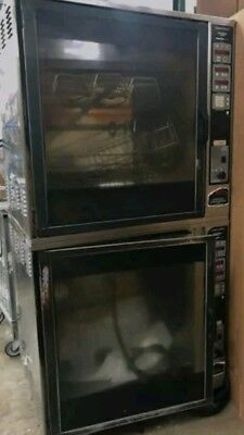 Henny Penny Double Stack Scr-8 Electric Commercial Rotisserie Chicken Beef