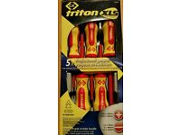 C.kLK triton XLS 5X professional general purpose screwdrivers SET