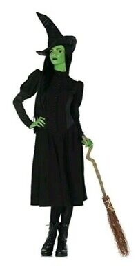 Wicked Elphaba Women's  2 Piece Witch Costume, Black, Size S/P Leg - Elphaba Costumes