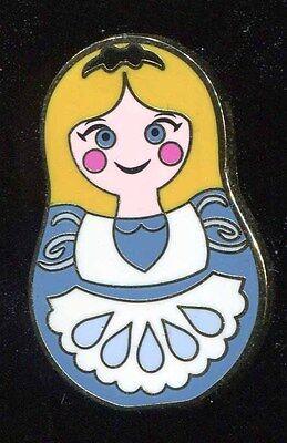 Nesting Dolls Mystery Alice Disney Pin 101920