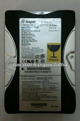 Seagate St340823a 40Gb Ide Desktop Drive P N 9R4007 040  F W 311Site Wu Date 11