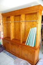 French Provincial 3 bay Library Bookcase with ladder Yanchep Wanneroo Area Preview
