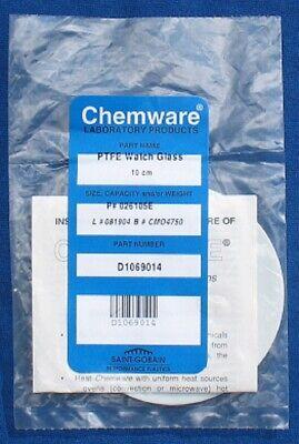 Chemware 026105e 10cm Ptfe Watch Glass