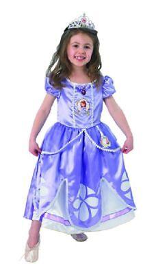 Rub - Disney Deluxe Kinder Kostüm Prinzessin Sofia the - Sofia Disney Prinzessin Kostüm