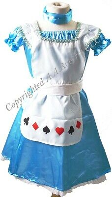 Fancy Dress Book Day ALICE IN WONDERLAND Costume AGE 9-10 Fits up to 28
