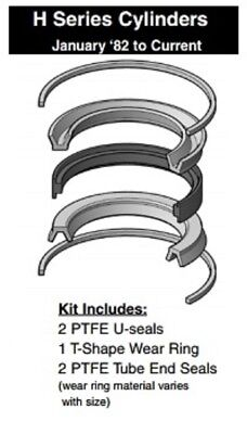 Miller Cylinder 3-14 Piston Seal Kit 171-kb001-325 H Series Ptfe Teflon