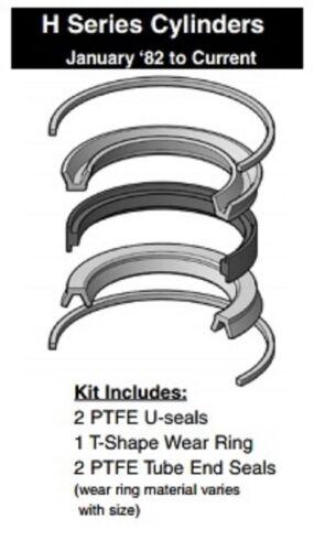 """Miller Cylinder 4""""  Piston Seal Kit 171-KB001-400, H Series PTFE Teflon"""
