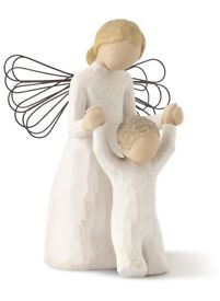 """Willow Tree """"Gardian angel"""" NEW & BOXED £14"""