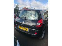 Renault Scenic Black for sale - Kirkcaldy - MOT until Feb 18